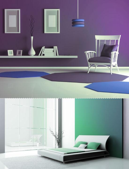 Disperzný, interiérový maliarsky náter